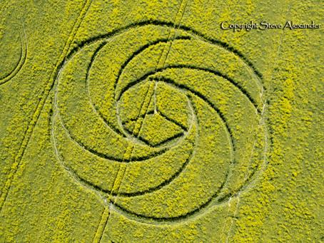 Soin Guidé Collectif Nébadon Crop Circle 2017