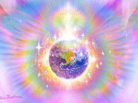 Soin Amour Lumière multidimensionnel en direct pour l'humanité et Gaia Solstice d'hiver 21 D