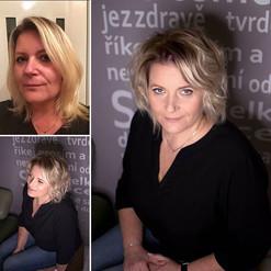 Změna blond odstínu, regenerace a výživa