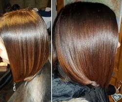Regenerace a výživa  vlasů s jemným stín