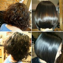 Jedny vlasy, dva styly úprav