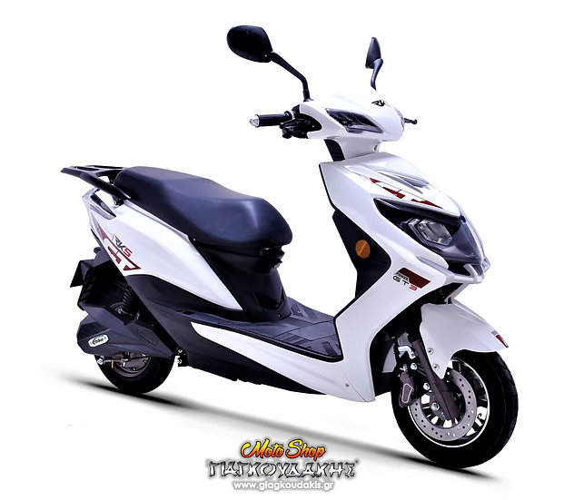GT-3 FORCE 1500 Watt. RKS Euro 5 ELECTRIC SCOOTER