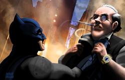 Batman VS The Penguin