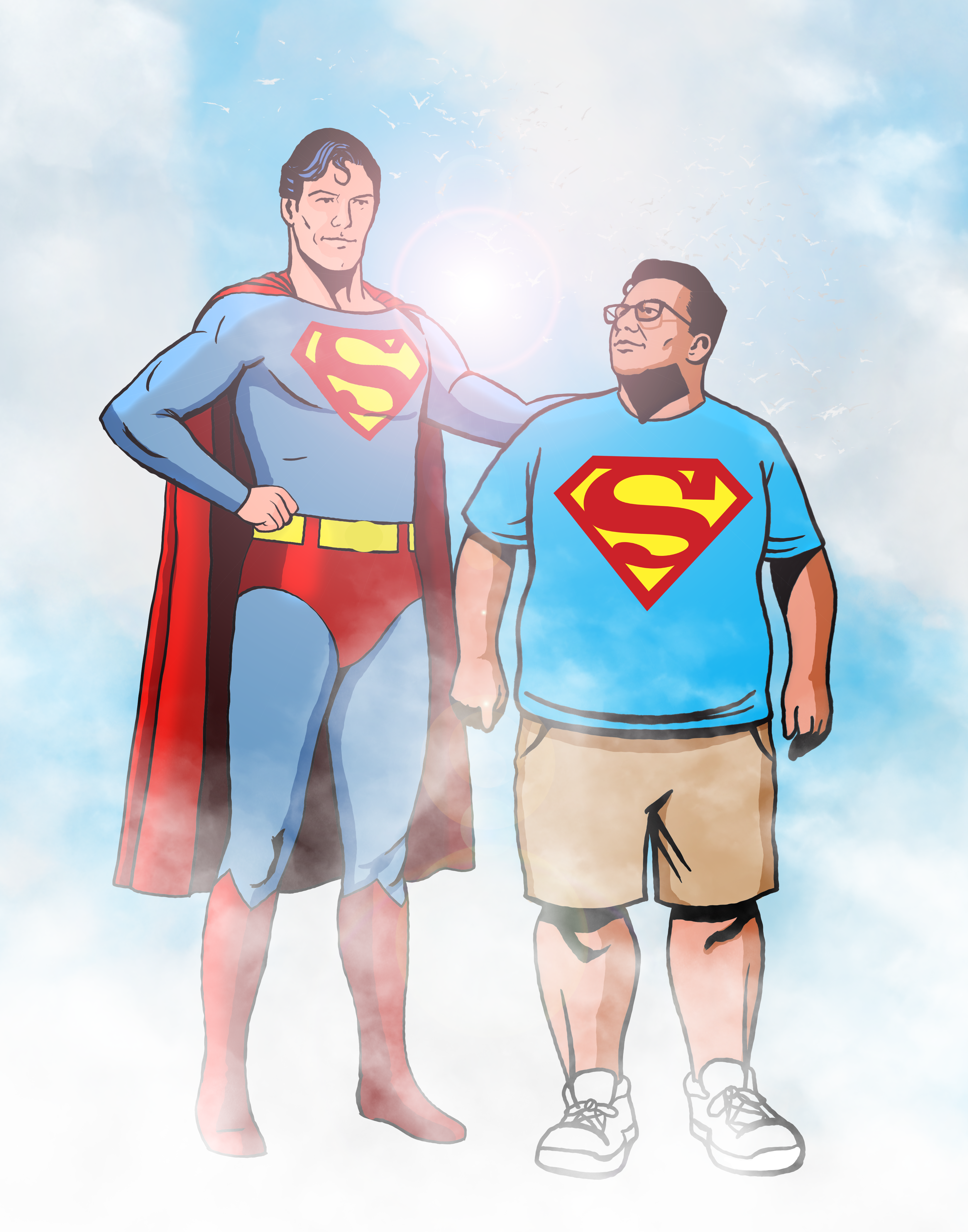 Superman and Peter