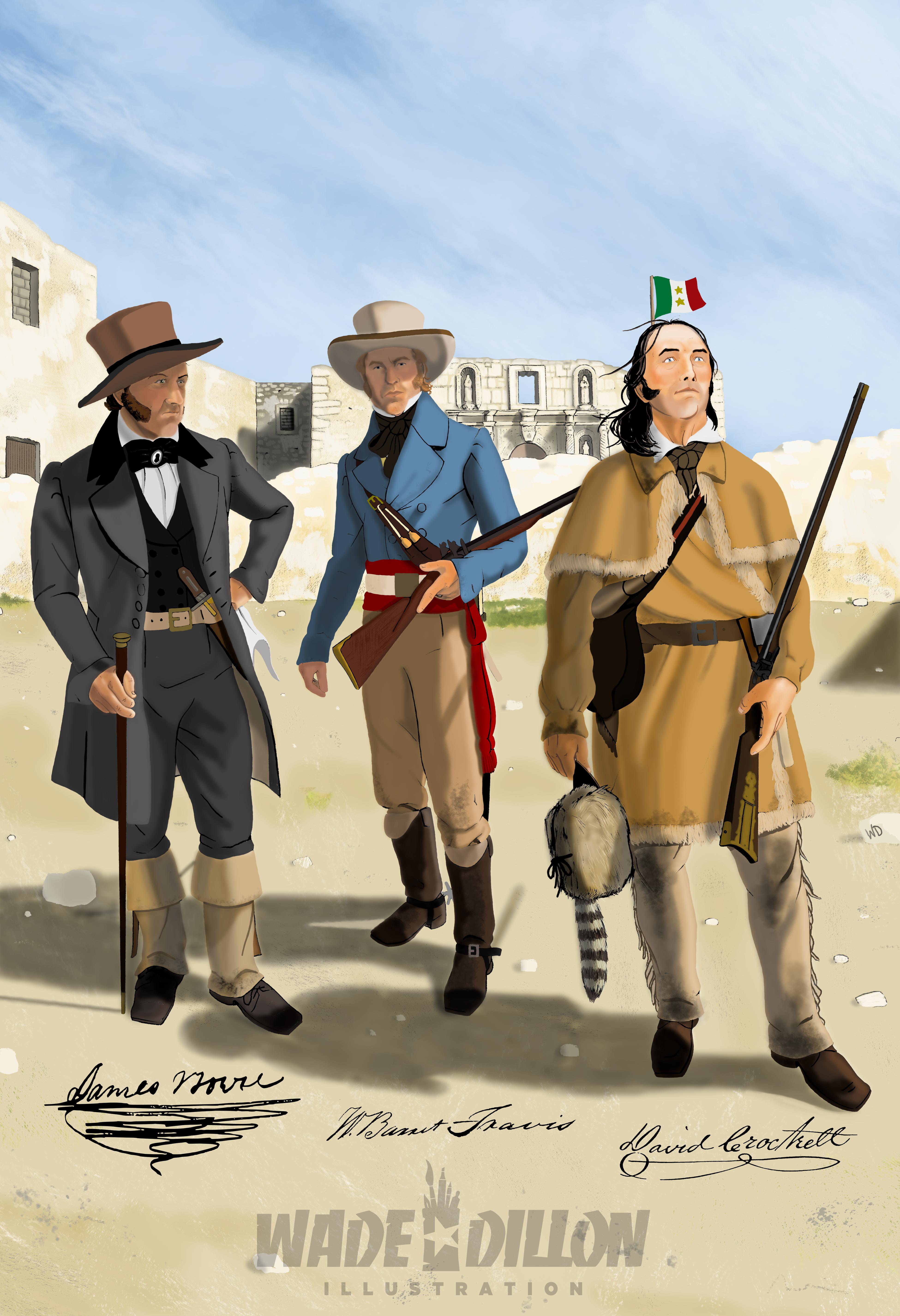 The Alamo Trinity