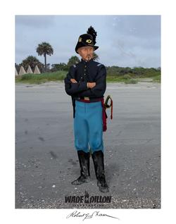 Robert Gould Shaw on Morris Island