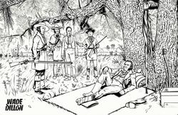 The Surrender of Santa Anna