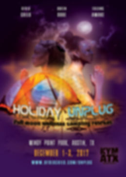 Join us for a relaxing, mid-holiday season getaway for a chance for you to unplug from the holiday madness and to gift yourself with some much needed rest and relaxation.   Details: www.ufuluchild.com/unplug  Credits:  - Tenci & Sol Xprsn of ufuluchild.com - Queen Roue of queenroue.com - Falling Awake of thisisfallingawake.com - Ismael of iq3photo.com/ - Raul of corocoro-art.com - Craig of bistrovonish.com