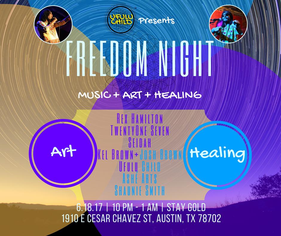Ufulu Child Freedom Night Event