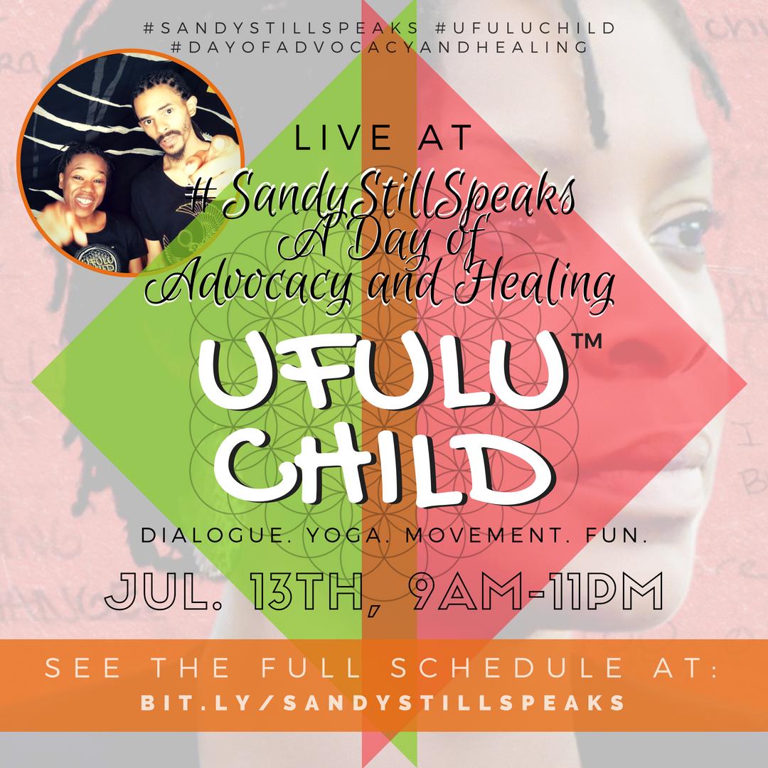 #SandyStillSpeaks + Ufulu Child