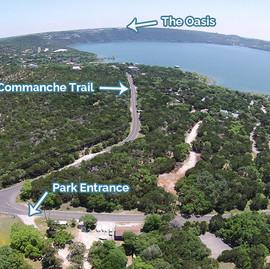 Windy Point Park Entrance
