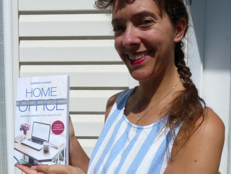 """Proof Copy of """"Home at the Office"""" is here!"""