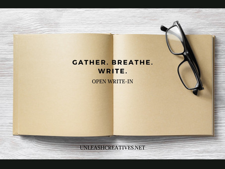 Unleashed Creatives: June 12 Write-In