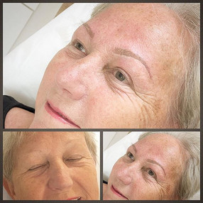 Brows to suit all age groups 💕 #beautys