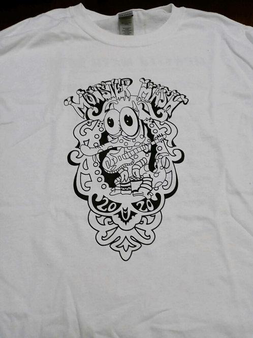 Monster Mash White T-Shirt