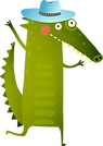 Cartoon Crocodile