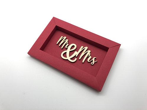 Swiss Frame S Mr & Mrs