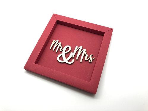 Swiss Frame M Mr & Mrs