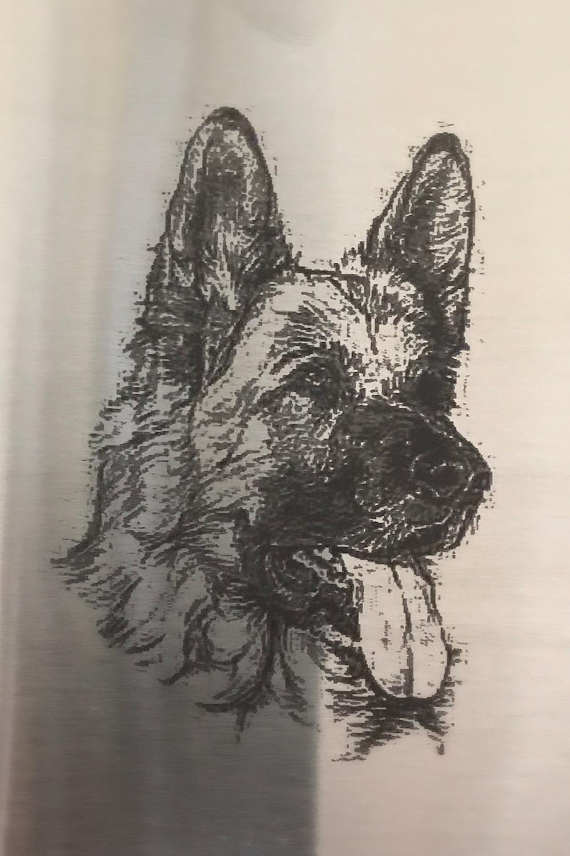 Laser Gravur Hund
