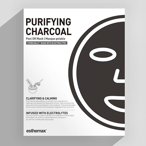 Purifying Active Charcoal Hydrojelly Mask (2 1oz masks)