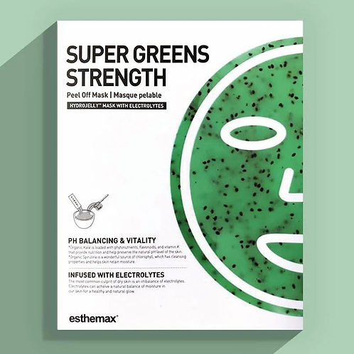 Super Greens Hydrojelly Mask (2 1oz masks)