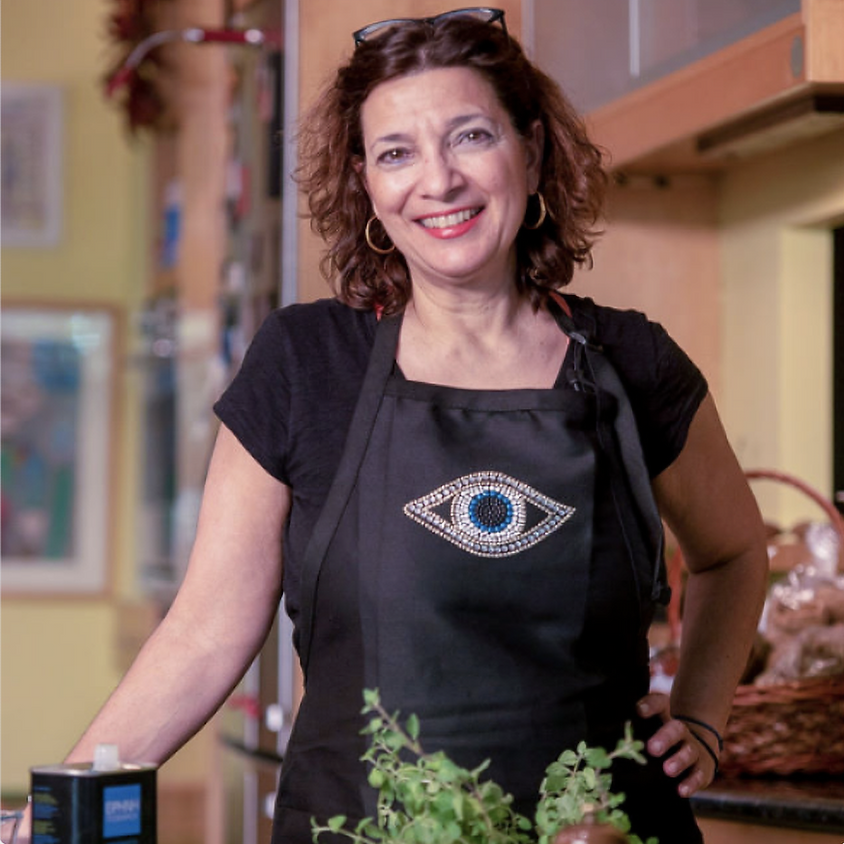 Cooking Easy Mediterranean in the Common House- with Diane Kochilas