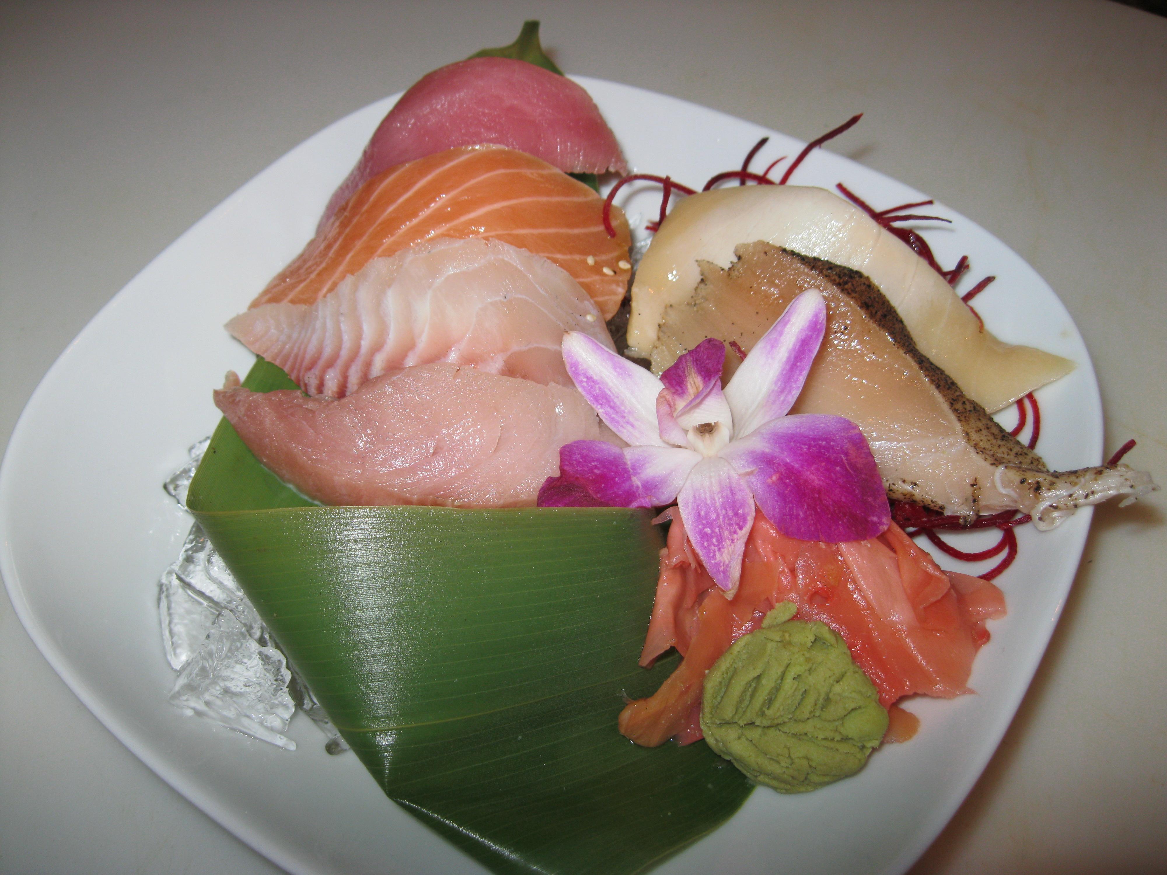 Sexy Sashimi Sampler