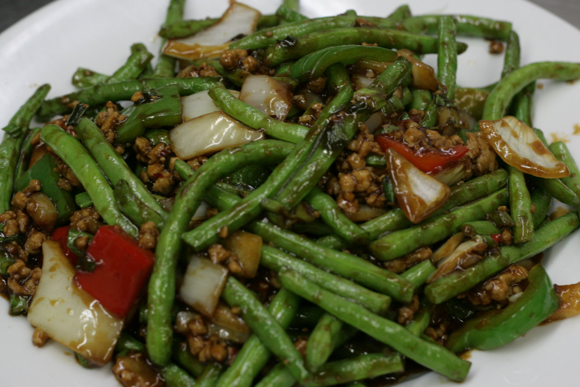 Tangy Spicy Green Bean