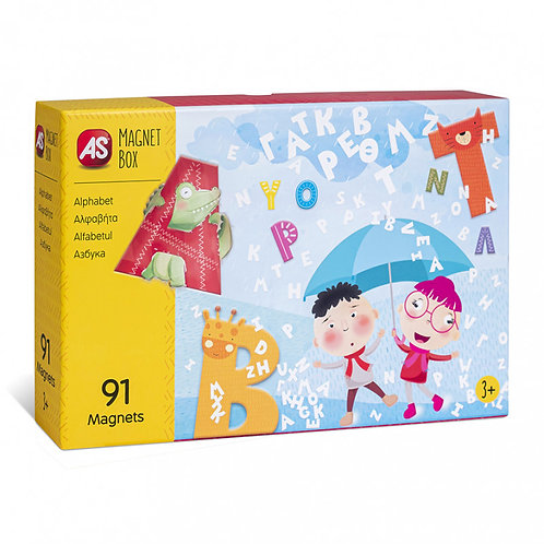 Manget Box - Alphabet