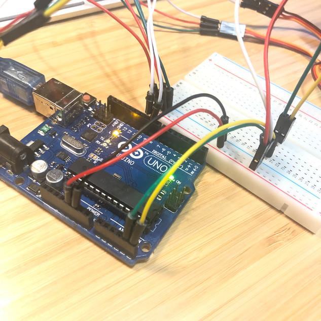 Arduino + Bread Board Circuts