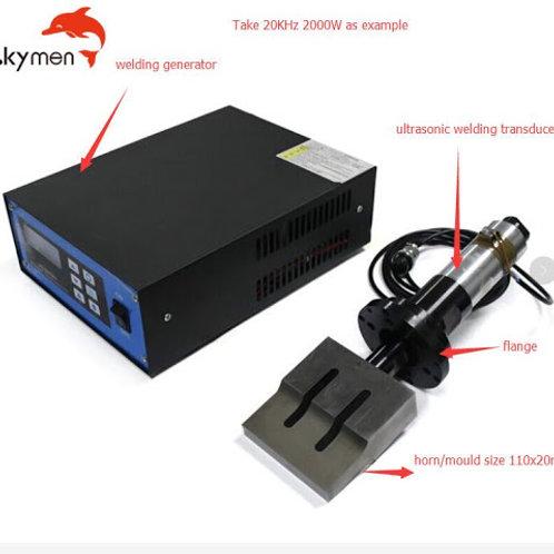 Ultrasonic Welding Machine 20KHZ 2000w Touch Screen Generator Spot Welder Mask