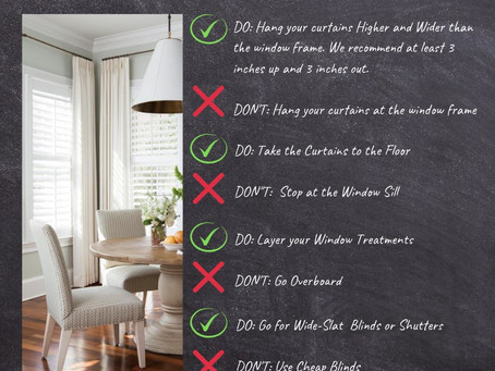Don't be stuck with drab window treatments!