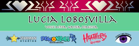 Lucia Lobosvilla Banner