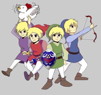 4 Swords Together
