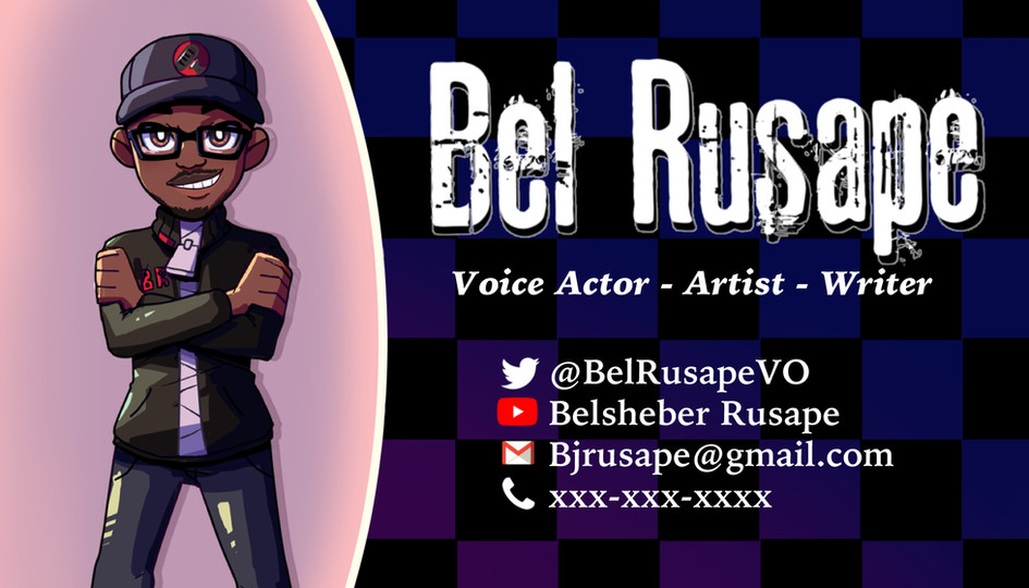 Bel Rusape Business Card