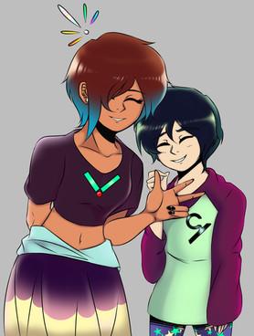 ViVi and Cyrus