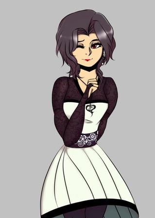 Violetta Character Design
