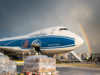 AirBridge launches scheduled freighter services at Rickenbacker