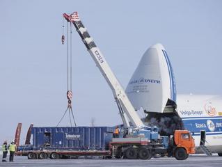 Volga-Dnepr in LNG project flights