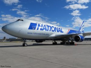 National Airlines to launch round-the-world freighter service
