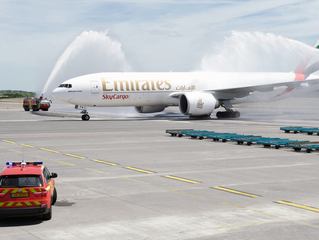Emirates-Cargolux partnership underway as new Luxembourg flight touches down