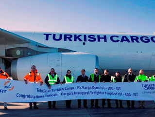 Turkish Cargo adds new Liege freighter call