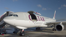 Qatar Airways Cargo has taken delivery of its fourth Airbus A330-200 freighter.