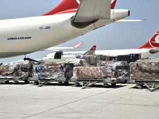 Turkish Airlines third-quarter cargo results rocket up