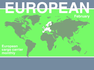 European Cargo Monthly: growth slows in February
