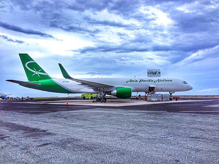 Asia Pacific Airlines expands fleet with B757 converted freighter