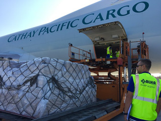 Cathay Pacific predicts strong Q1 for air cargo