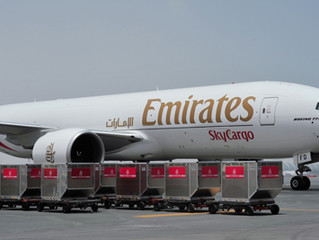 Emirates, Cargolux launch first flight of cargo agreement