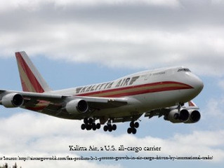 FAA predicts 3.1 percent growth in air cargo, driven by international trade