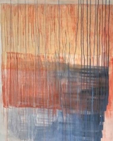 Yoko Choi  | Orange and Blue